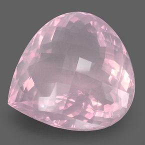 Buy 421.80 ct Pink Rose Quartz 54.05 mm x 53 mm from GemSelect (Product ID: 278995)