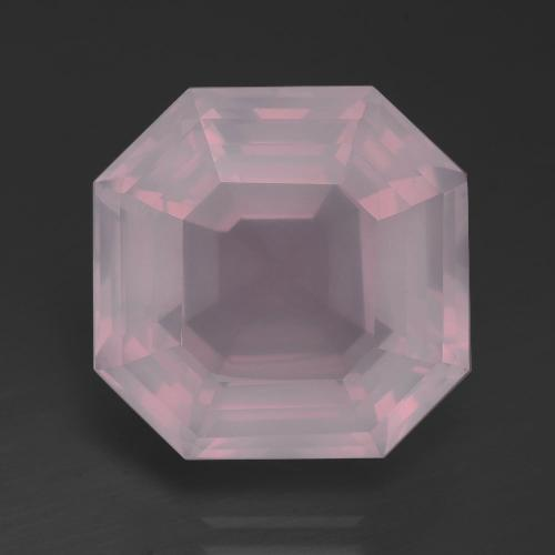 Medium Pink Quarzo rosa Gem - 13.1ct Taglio Asscher (ID: 392188)
