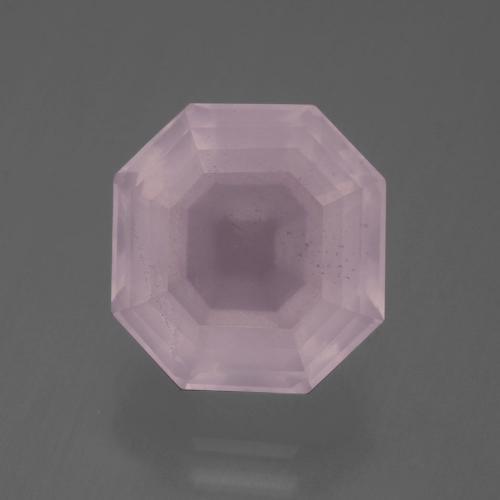 Side Drilled Quartz Faceted Flat Back Rose Cut Loose Gemstones 15 Pcs Rose Pink Sapphire Color Hydro Quartz Cabochons SKU-Rr172