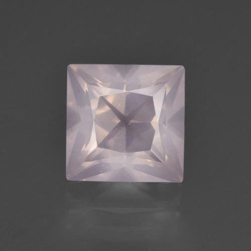 thumb image of 3.4ct Princess-Cut Pink Rose Quartz (ID: 400780)