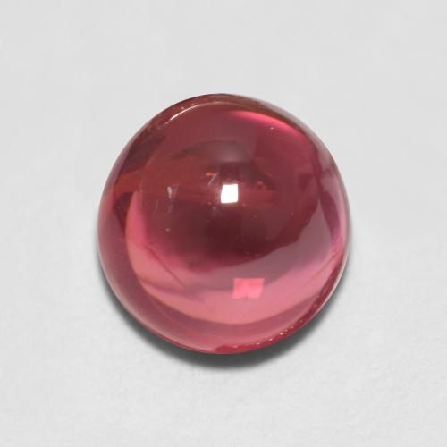 9.1x12.6 Mm Natural Rubellite Tourmaline ~Red Tourmaline ~ Rubellite Cabochon~ Oval Shape Rubellite ~Flat Back Loose Gem Stone