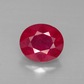 Buy 2.63 ct Red Ruby 8.45 mm x 7.4 mm from GemSelect (Product ID: 287621)