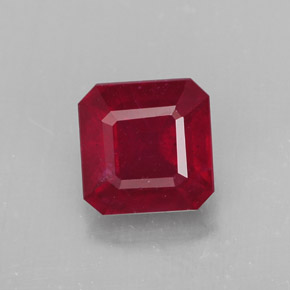 Buy 1.96 ct Red Ruby 6.57 mm x 6.5 mm from GemSelect (Product ID: 312634)