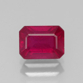 Buy 1.41 ct Pink Red Ruby 6.93 mm x 5.1 mm from GemSelect (Product ID: 315495)