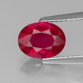 Buy 1.41ct Red Ruby 8.04mm x 6.19mm from GemSelect (Product ID: 315618)
