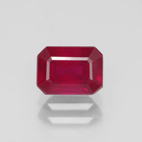 Buy 1.53ct Red Ruby 7.03mm x 5.13mm from GemSelect (Product ID: 318870)