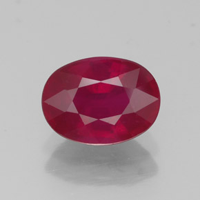 Buy 1.86 ct Pink Red Ruby 8.19 mm x 6.1 mm from GemSelect (Product ID: 318970)