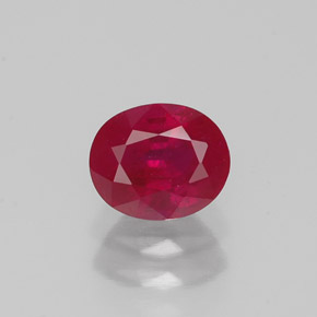 Buy 1.09 ct Pink Red Ruby 6.11 mm x 5.1 mm from GemSelect (Product ID: 319432)