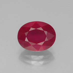 Buy 2.81 ct Pink Red Ruby 9.11 mm x 7.2 mm from GemSelect (Product ID: 320130)