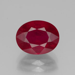 Buy 2.96 ct Pink Red Ruby 9.15 mm x 7.3 mm from GemSelect (Product ID: 320163)
