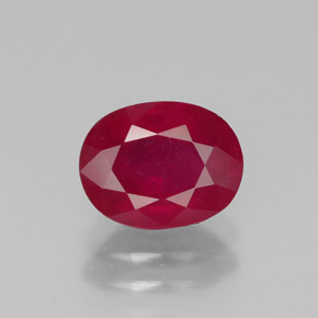 Buy 1.85 ct Pink Red Ruby 8.02 mm x 6.2 mm from GemSelect (Product ID: 320389)