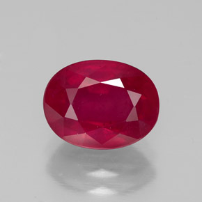 Buy 2.86 ct Pink Red Ruby 8.89 mm x 6.9 mm from GemSelect (Product ID: 320390)