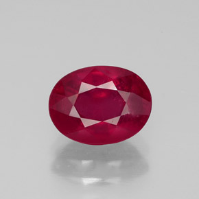Buy 2.01 ct Pink Red Ruby 8.08 mm x 6.1 mm from GemSelect (Product ID: 320391)