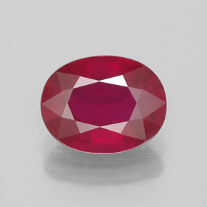 Buy 2.46 ct Pink Red Ruby 9.17 mm x 7.2 mm from GemSelect (Product ID: 320591)