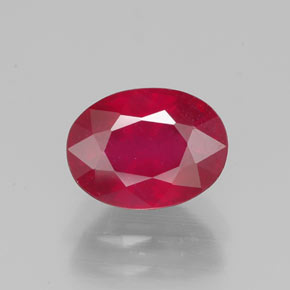 Buy 2.22 ct Pink Red Ruby 8.24 mm x 6.2 mm from GemSelect (Product ID: 320593)
