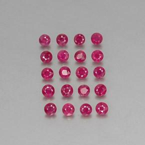 thumb image of 0.1ct Diamond-Cut Pink Red Ruby (ID: 339227)