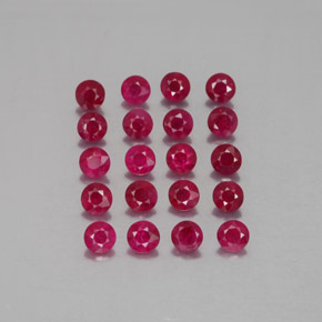 Buy 2.21ct Pink Red Ruby 2.79mm  from GemSelect (Product ID: 339500)