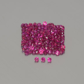 Pink Red Ruby Gem - 0ct Diamond-Cut (ID: 375035)