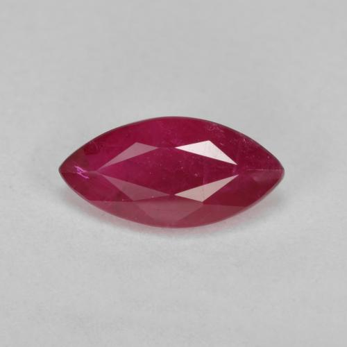 thumb image of 1.6ct Marquise Facet Pink Red Ruby (ID: 405891)