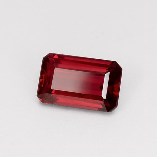 thumb image of 1.5ct Octagon Step Cut Red Ruby (ID: 459796)