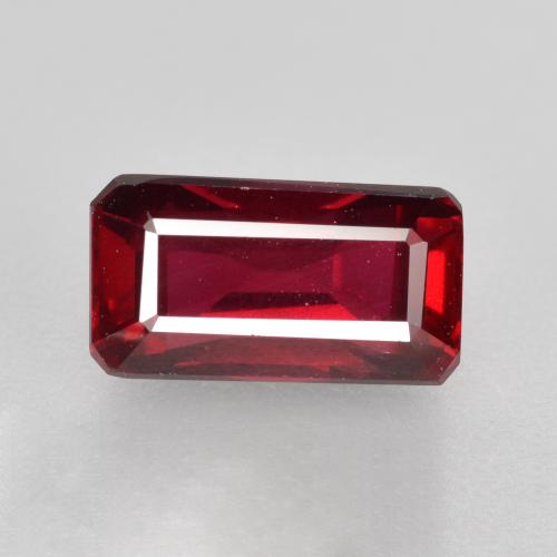 1.8ct Octagon Step Cut Red Ruby Gem (ID: 459798)