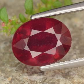 Buy 2.73 ct Red Ruby 8.68 mm x 6.9 mm from GemSelect (Product ID: 464791)