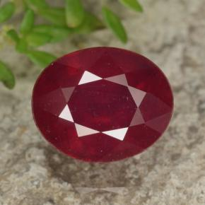 Buy 3.70 ct Red Ruby 9.63 mm x 7.9 mm from GemSelect (Product ID: 464842)