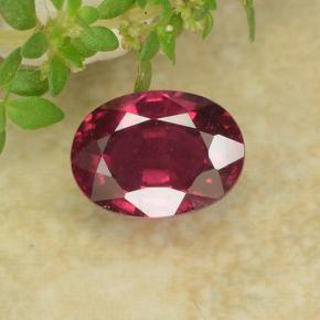 1.3ct Oval Facet Pink Red Ruby Gem (ID: 483228)