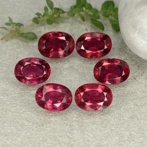1.4ct Oval Facet Pink Red Ruby Gem (ID: 483252)