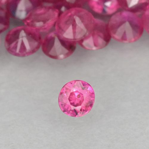 0ct Diamond-Cut Pinkish Red Ruby Gem (ID: 500487)