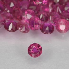 0ct Diamond-Cut Pinkish Red Ruby Gem (ID: 500643)
