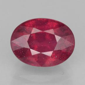 Medium Red Rubí Gema - 2.1ct Forma ovalada (ID: 500862)