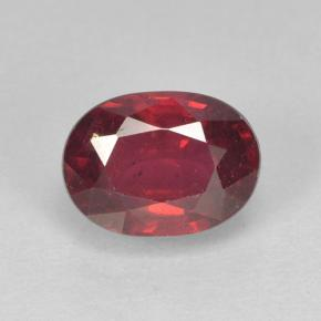 Medium Red Rubí Gema - 1.9ct Forma ovalada (ID: 501956)