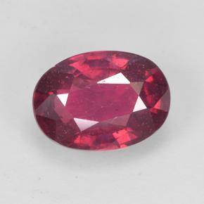 Medium Red Rubí Gema - 1.5ct Forma ovalada (ID: 502649)