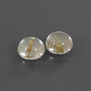 Buy 3.08 ct Colorless Golden Rutile Quartz 7.13 mm  from GemSelect (Product ID: 305041)