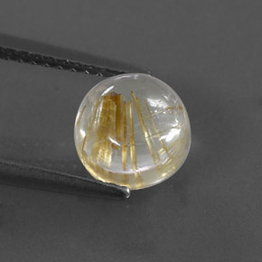 Buy 1.82ct Colorless Golden Rutile Quartz 7.27mm  from GemSelect (Product ID: 318181)