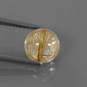 Buy 2.25ct Colorless Golden Rutile Quartz 8.06mm  from GemSelect (Product ID: 318245)