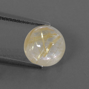 Buy 2.59 ct Colorless Golden Rutile Quartz 8.18 mm  from GemSelect (Product ID: 322086)