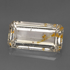 Buy 22.78 ct Golden Rutile Topaz 23.23 mm x 11.7 mm from GemSelect (Product ID: 275190)