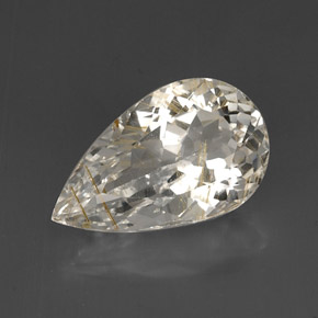Buy 15.47 ct Golden Rutile Topaz 19.71 mm x 11.9 mm from GemSelect (Product ID: 277659)