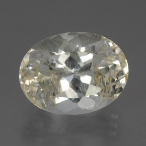 Buy 13.64 ct Golden Rutile Topaz 16.21 mm x 12.3 mm from GemSelect (Product ID: 283509)