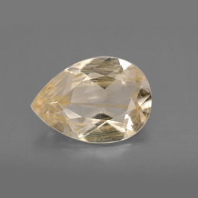 Buy 4.62 ct Golden Rutile Topaz 13.35 mm x 9.5 mm from GemSelect (Product ID: 301761)