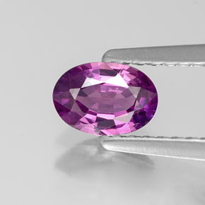 Buy 0.55 ct Pinkish Purple Sapphire 6.05 mm x 4.3 mm from GemSelect (Product ID: 221366)