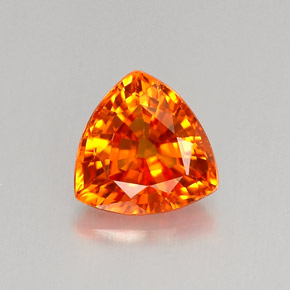 1 Carat Golden Orange Sapphire Gem From Tanzania Songea