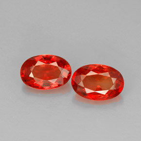 Buy 1.31 ct Red Orange Sapphire 6.24 mm x 4.3 mm from GemSelect (Product ID: 228632)