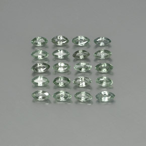 Green Sapphire Gem - 0.2ct Marquise Facet (ID: 240020)