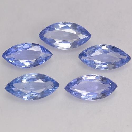 Light Blue Sapphire Gem - 0.5ct Marquise Facet (ID: 243730)