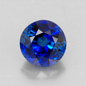 1 6 Carat Royal Blue Sapphire Gem From Madagascar