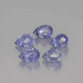 Buy 3.93 ct Light Violet Sapphire 5.89 mm  from GemSelect (Product ID: 250937)