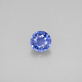 Buy 0.62 ct Cornflower Blue Sapphire 4.97 mm  from GemSelect (Product ID: 253885)